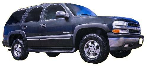 Autorestylers 2000-2006 Chevrolet Tahoe Matte Black Fender Flares