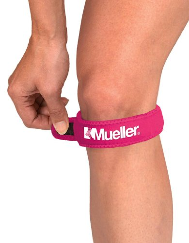 Mueller Knee Straps - Mueller Jumpers Knee Strap, Pink, One Size Fits Most, (Pack of 3)