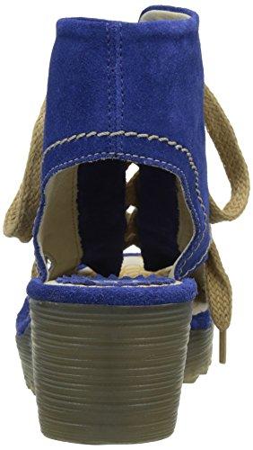 FLYA4|#Fly London Yaba702fly, Heels Sandals Para Mujer Azul (Blue 006)