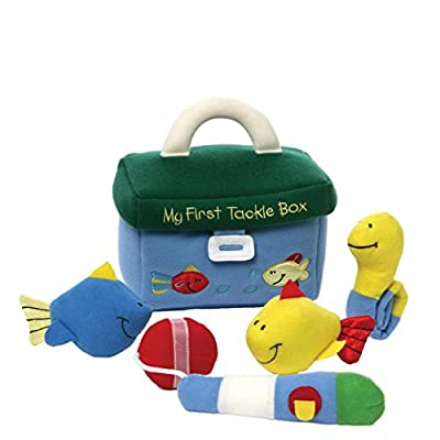 Baby GUND My First Tackle Box Stuffed Plush Playset, 5 pieces