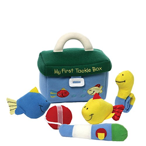 GUND Baby My First Tackle Box Stuffed Plush Playset, 5 pieces