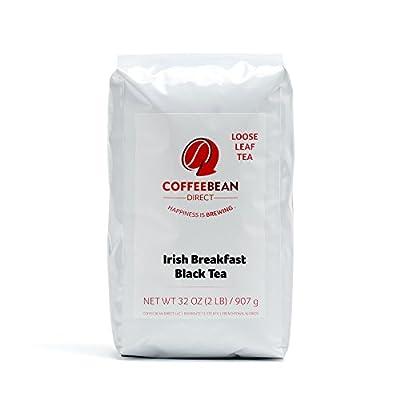 Coffee Bean Direct Irish Breakfast Loose Leaf Tea, 2 Pound Bag