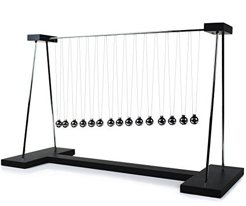 ScienceGeek Pendulum Wave Classic Newton's Cradle Balance Balls