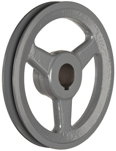 TB Woods AK641 FHP Bored-to-size V-Belt Sheave, A Belt Section, 1 Groove, 1