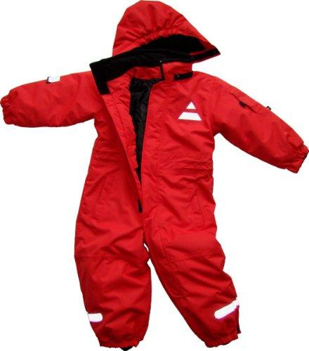 Maylynn Mini Softshell Schneeanzug Schneeoverall rot, Größe:80