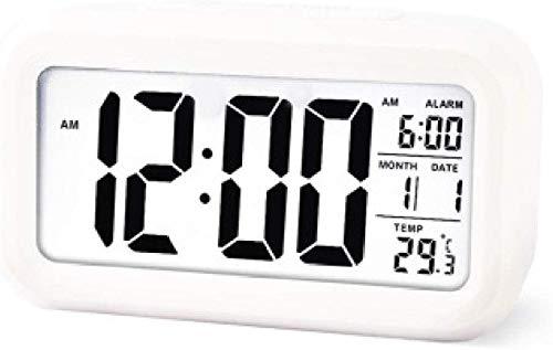 CHUTD Despertador electrónico Despertador Luminoso LED Despertador ...