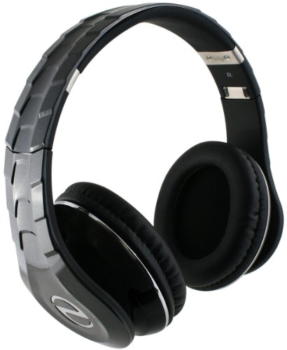 iHip IP-ELITE-BK Headphones with Built-in Microphone and Removeable Cord, Black (Discontinued by Manufacturer)