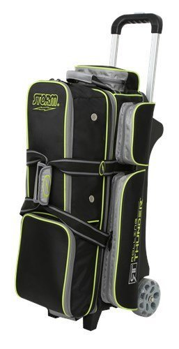 Storm Rolling Thunder 3 Ball Bag Black/Grey/Lime