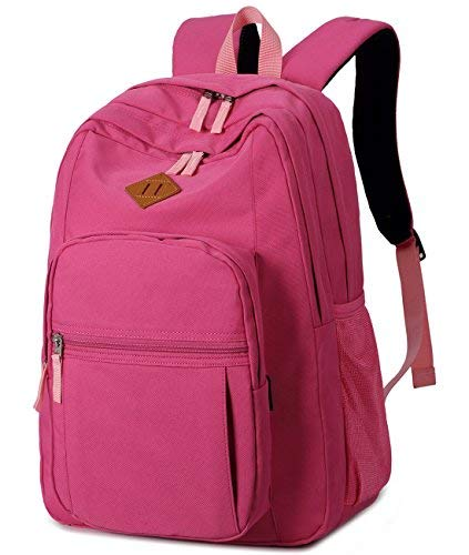 19c0c6dbdf Teen Backpacks Causal Canvas Stripe Backpack Cute for Girls School Bag   Amazon.in  Bags