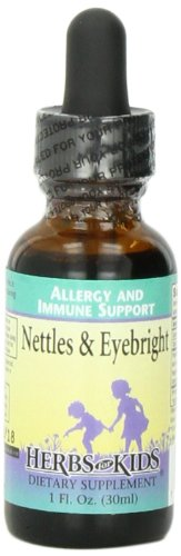 Herbs for Kids Nettles & Eyebright Liquid, 1 Ounce -