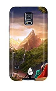LFNCCoa8560myzOC Trine 2 Heading For Castle Fashion Tpu S5 Case Cover For Galaxy
