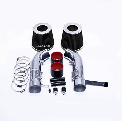2007 2008 INFINITI G35 3.5 3.5L V6 (SEDAN ONLY) DUAL Air Intake Kit Systems (BLACK)
