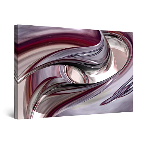 Awesome Art (STARTONIGHT Canvas Wall Art - Abstract Destiny Unexpected, Abstract Framed 32 x 48 Inches)