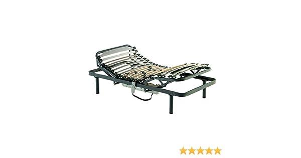 LA WEB DEL COLCHON - Cama Articulada Confort Plus 75x 190 cms.: Amazon.es: Hogar