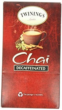 Twinings Chai Tea K Cup, Decaffeinated, 24 Count Size: 24 Count FlavorName: Decaf Chai Model: 9955 (Home & Kitchen)