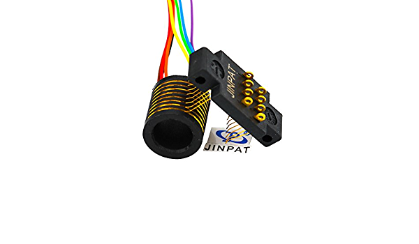 JINPAT 8 Circuits Separate Slip Ring in Compact Design for Commercial Application