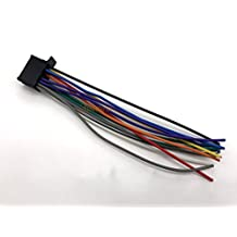 Autostereo ISO Lead Wiring Loom Power Adaptor Wire Radio Connector for PIONEER DEH-series 2010+ (select models) 16-pin(23x10mm) Stereo Radio Receiver Replacement Wire Harness Cable