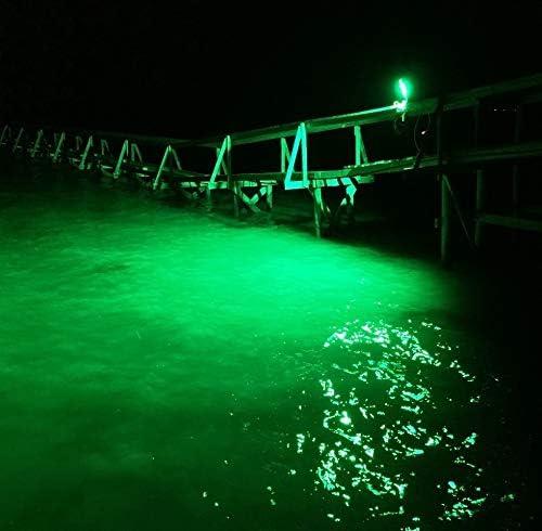 DockPro 16000 Above Water Green LED Dock Light