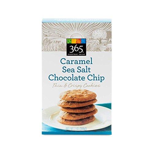 365 Sea Salt Caramel Chocolate Chip Thin Cookies 7 oz