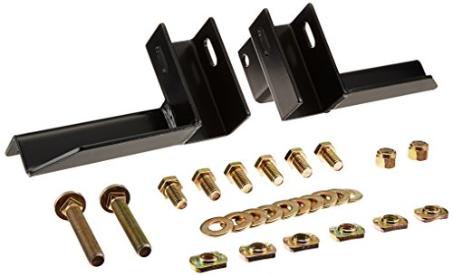 Backrack 30317 Installation Hardware Kit Incl. Regular Brackets and Safety Rack Incl. Fasteners Stake Pocket Hardware Installation Hardware Kit
