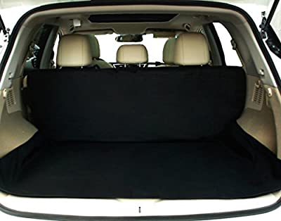 NAC&ZAC Waterproof SUV Cargo Liner, Extra Bumper Flap, Machine Washable