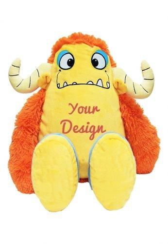 Naranja de Monster – Un personalizado oso de peluche