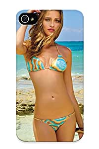 Dreaminghigh C833e45859 Case For Iphone 4/4s With Nice Ana Beatriz Barros Women Fashion Models Blondes Brunees Sexy Babes Bikini Swimwear Beaches Ocean Appearance