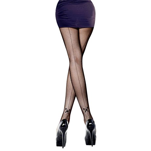 Rosemarie Collections Women's Halloween Coustume Fancy Stockings Fishnet Tights (Witch Coustume)