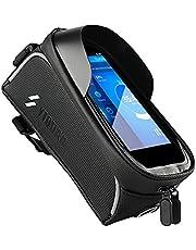 Fiets Harde Schaal Voorframe Tas, Fiets Bovenbuis Zadel Telefoon Tas, Fietsuitrusting, Voor 6.5 Inch Mobiele Telefoon