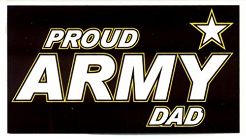 Proud Army Dad Decal Sticker ()