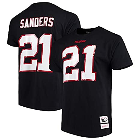 best sneakers 1d40e ac486 Amazon.com : Mitchell & Ness Deion Sanders Atlanta Falcons ...