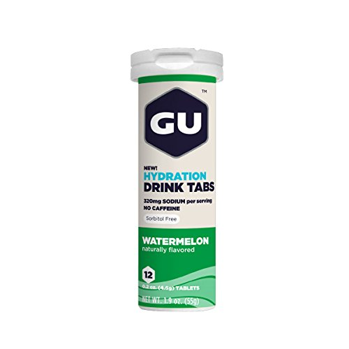 GU Hydration Electrolyte Tablets Watermelon