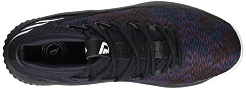 Adidas Dame 4 Scarpa Da Uomo Nucleo Di Basket Nero-bianco Nucleo Nero / Bianco / Nucleo Nero