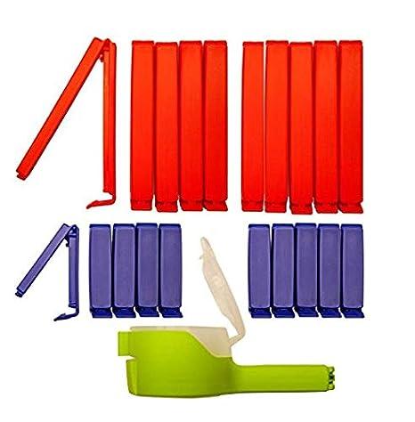 clip2friend Juego Nº 5 (21 piezas), 20 bolsas de clips/bolsa ...