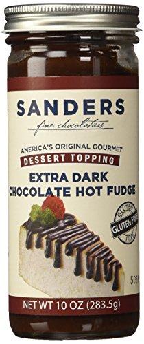 (Sanders of Detroit Bittersweet Hot Fudge Dessert Topping 10 Oz.)