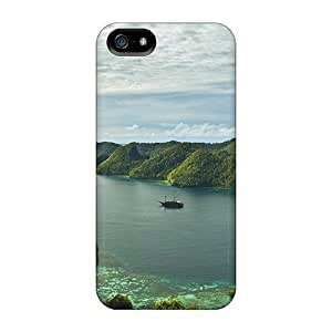 Case Cover Water In The Lake/ Fashionable Case For Iphone 5/5s