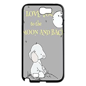 Elephants ZLB611197 Custom Case for Samsung Galaxy Note 2 N7100, Samsung Galaxy Note 2 N7100 Case