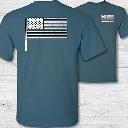 - American Flag Billiards Shirt - W