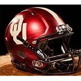 Oklahoma Sooners Riddell Speed Mini Replica Bring The Wood Football Helmet dd0208acc