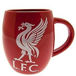 LIVERPOOL FC TEA TUB MUG - RED MUG WITH ...