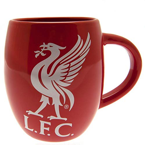 LIVERPOOL FC TEA TUB MUG - RED MUG WITH WHITE LIVERBIRD - LARGE MUG, HOLDS OVER 16 OUNCES - PERFECT FOR ANY LFC FAN - GET YOURS TODAY