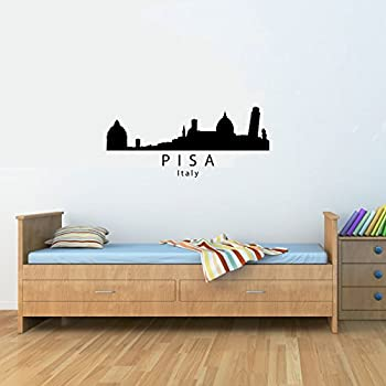 Amazoncom Rome Italy City Skyline Vinyl Wall Decals Quotes - Wall decals city
