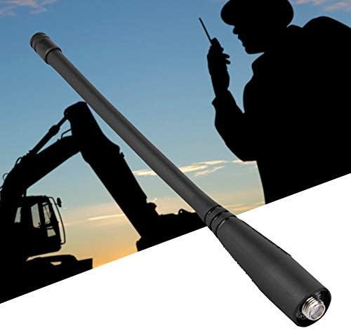 トランシーバーアンテナ、SMA-メスUHF/VHF Baofeng UV5R UV-82 GT-3用136-174/400-520 MHz無線アンテナ