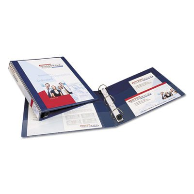 Heavy-Duty View Binder with One Touch EZD Rings, 1'' Capacit