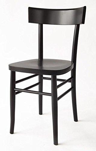 Sedie In Legno Milano.Sedia In Legno Nuova Gia Montata Modello Milano Vintage Nero
