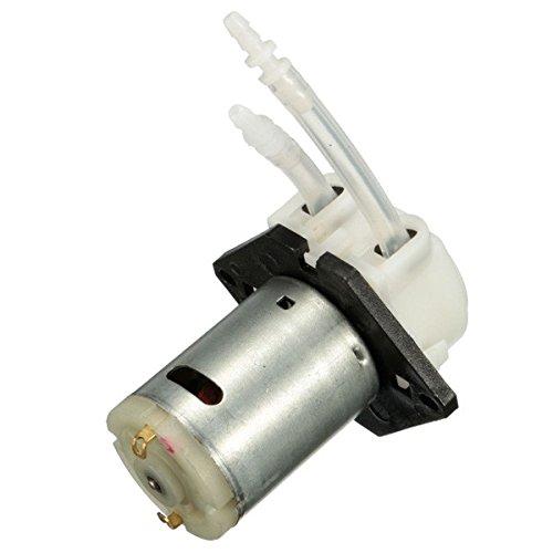 100ml Miniature - DC 12V D4 Lab Dosing Pump Peristaltic Head Chemical Water Liquid 19~100ml/min