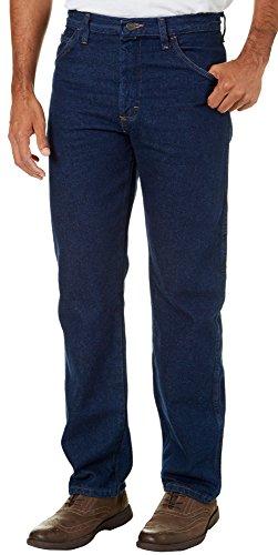 Fit Genuine Jeans Wrangler Regular (Wrangler Genuine Mens Legendary Gold Regular Fit Jeans 30W x 30L Blue)