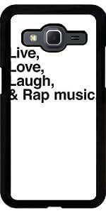 Funda para Samsung Galaxy Core Prime (SM-G360) - Música Rap by wamdesign
