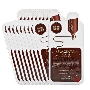Placenta Revital Essential Mask EX. 25ml Pack of 10