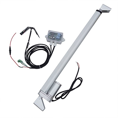 "ECO LLC 1KW Solar Tracker System Single Axis 18"" Linear Actuator Sunlight Tracking System"